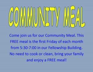 Community Meal Website